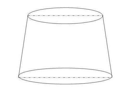 用纸做圆台的步骤图片