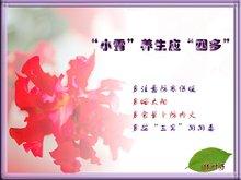 """中国二十四节气 之 """" 小雪"""" - 辙鲋 - 辙鲋 的 博客"""