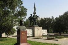 华北军区烈士陵园赵博生雕像