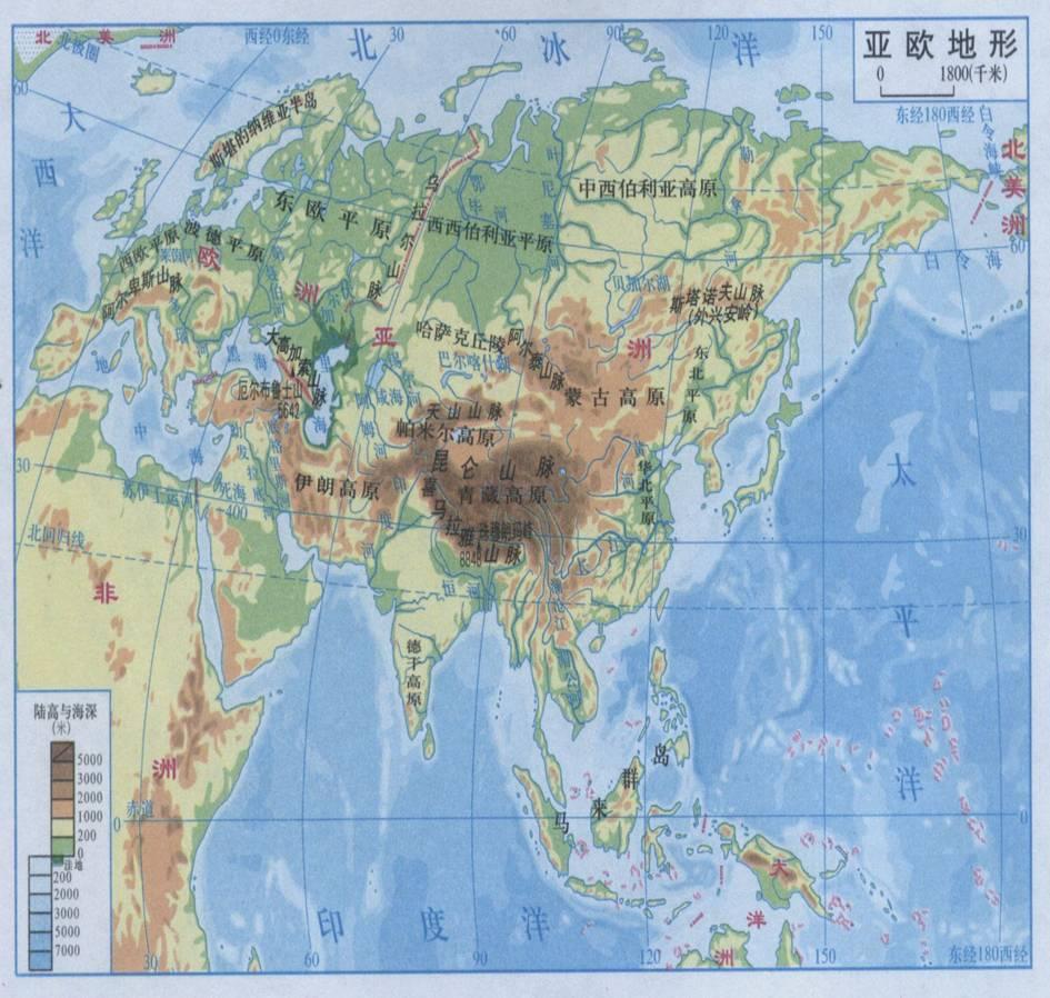 西亚地中海沿岸属地中海气候,西伯利亚东部的上扬斯克和奥伊米亚康