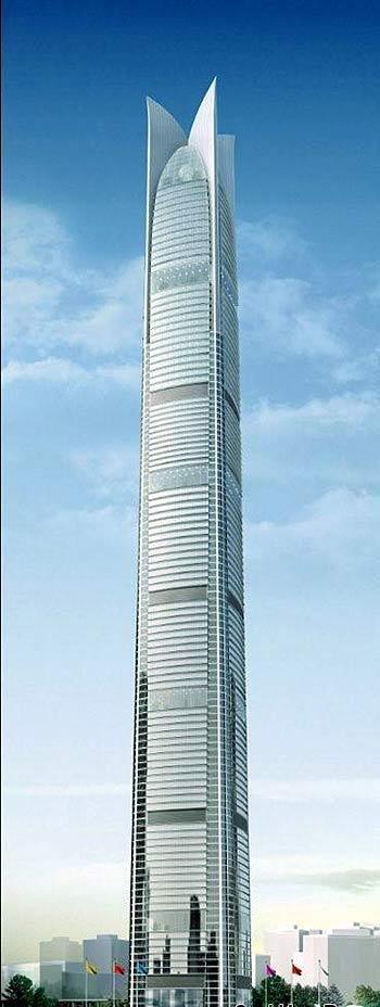 10】1,深圳平安国际金融大厦646米 2,上海中心大厦632米 3,武汉绿地中
