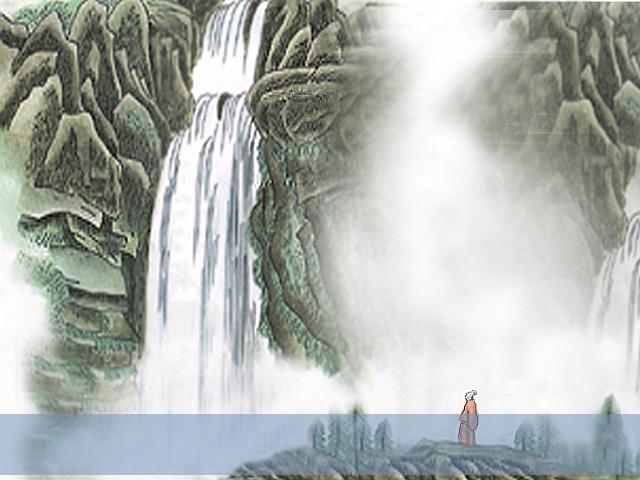《望庐山瀑布》作者是____代诗人_________,他被后人誉为__________.图片