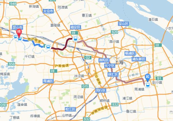 上海南站到达浦东新区秀沿路昌硕科技 坐地铁具体路线