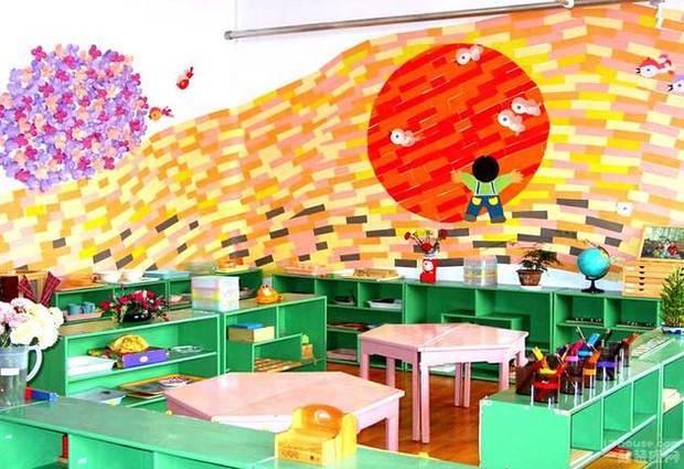 幼儿园教室墙面设计方法 幼儿园教室墙面布置