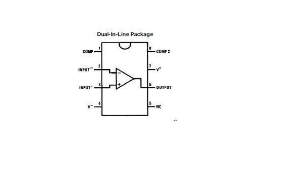 运放lm308的原理图及替代品(op07除外)