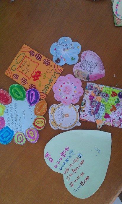 四年级小学生文明贺卡制作方法?_360v年级一回再小学做图片