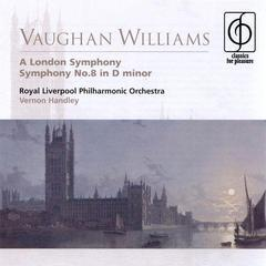 vaughan williams a london symphony, symphony no.8 in d minor