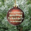 something to hold on to [at christmas]