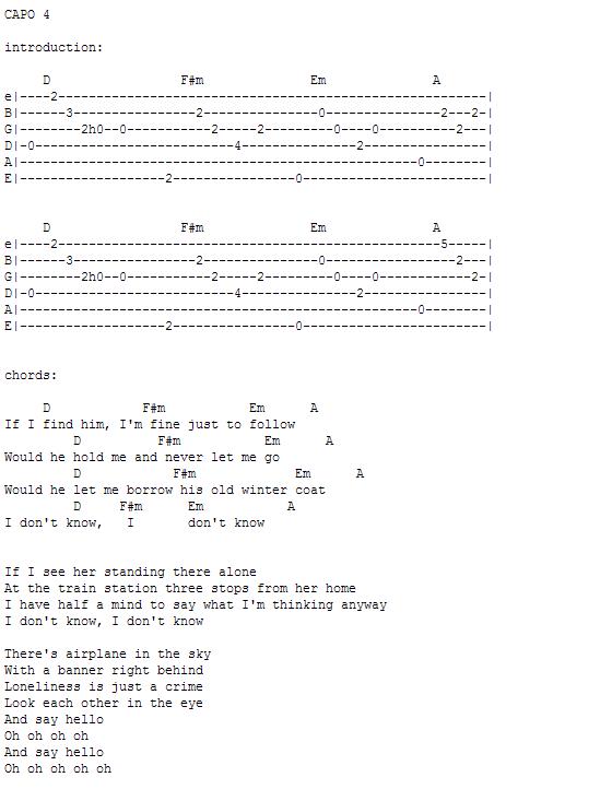 雨花石吉他伴奏谱子