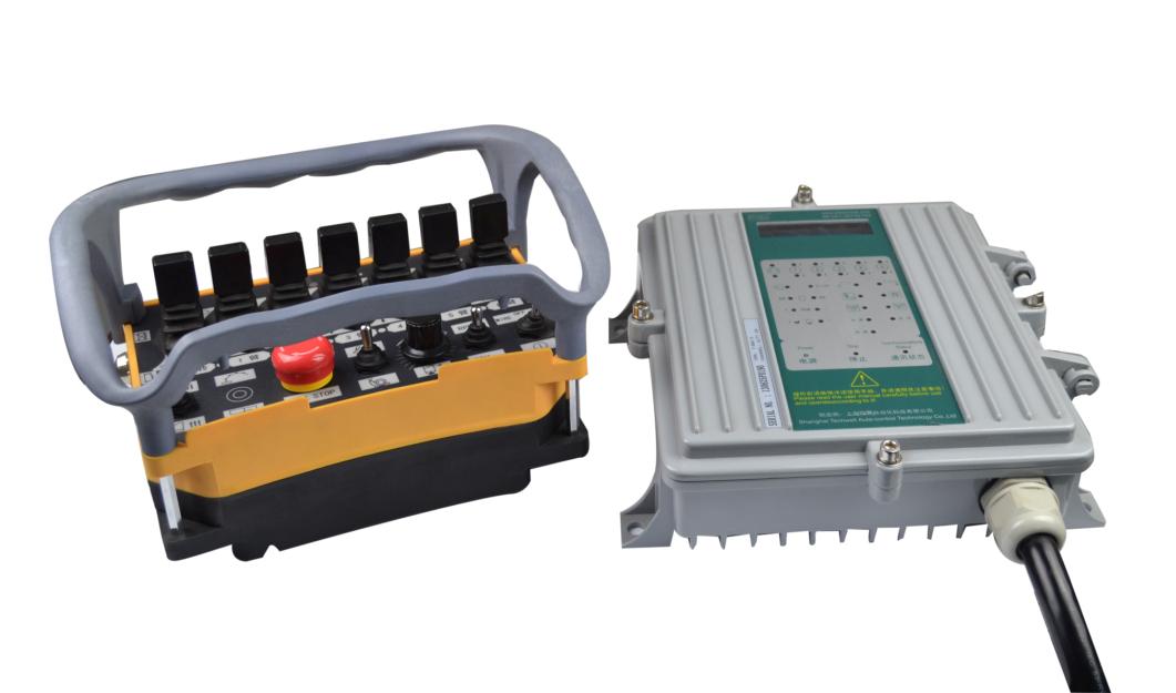 工业无线遥控器是专门用来控制工程机械或工业设备的远程无线遥控