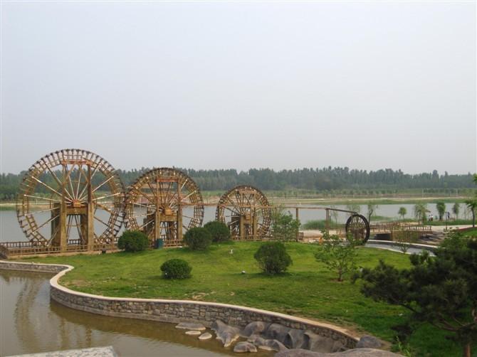2009年3月减河湿地公园项目正式启动,该项目由,经济开发区管委会组织
