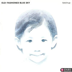 old-fashioned blue sky