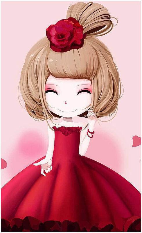 有一个穿各种裙子的齐刘海卡通娃娃叫什么名字?