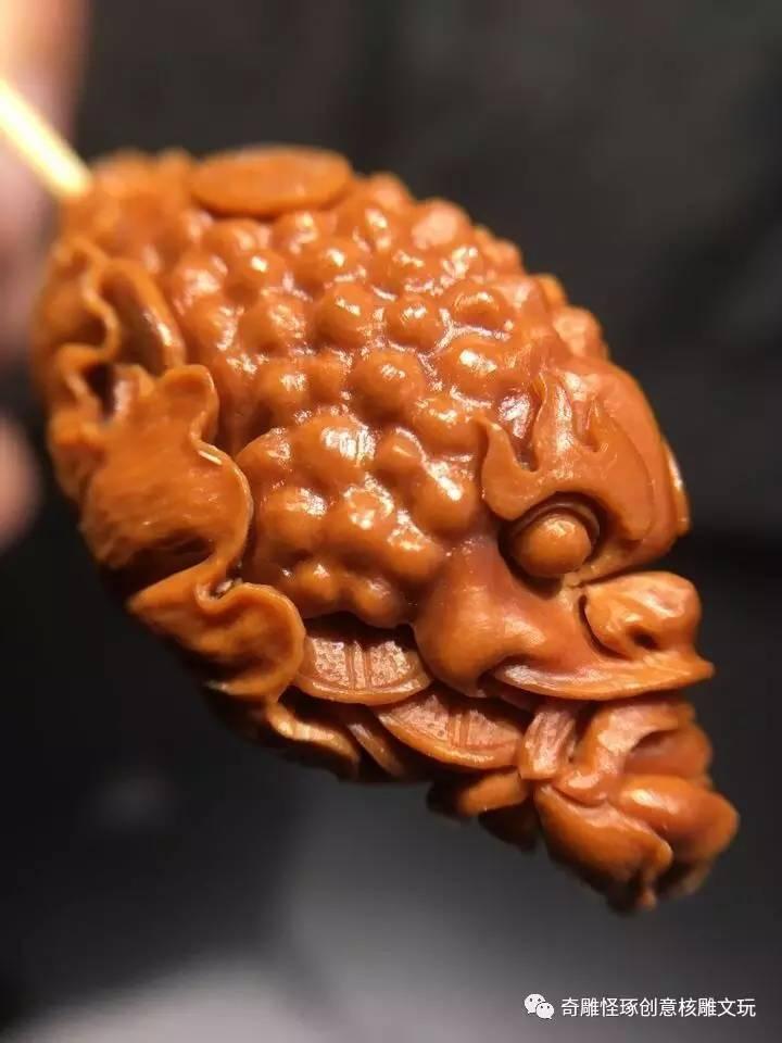 素材来源:苏工纯手工雕刻橄榄核雕 微信公众平台 qdgz02