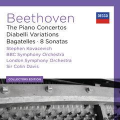beethoven: the piano concertos; diabelli variations; bagatelles; 8 sonatas(6)