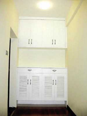 高1米2鞋柜设计图